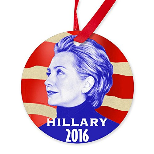 CafePress Hillary 2016 Ornament Round