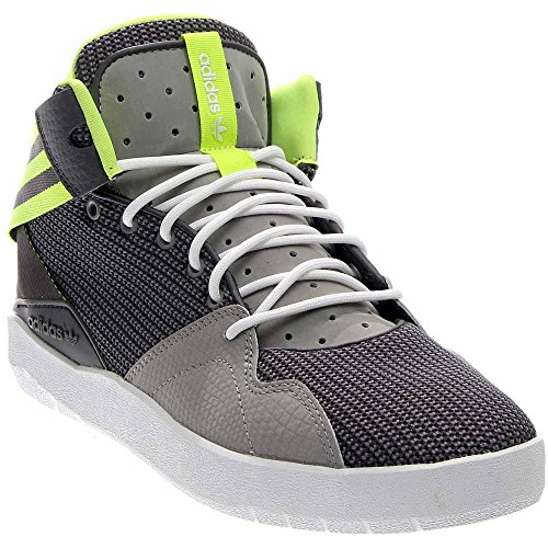 's Crestwood Mid Shoe,Solid Grey/Solar Yellow/Solid Grey,10 M US ()