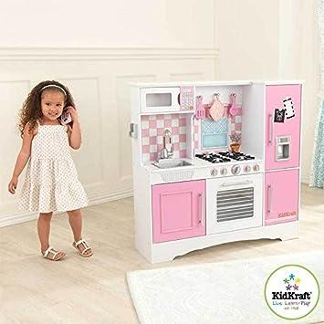 amazon.com: kidkraft culinary kitchen white: toys & games - Kidkraft Espresso Küche
