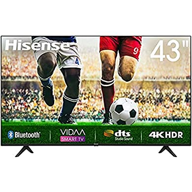 Hisense Uhd TV 2020 43A7100F - Smart TV Resolución 4K, Precision Colour, Escalado Uhd con Ia, Ultra Dimming, Audio Dts Studio Sound, Vidaa U 4.0, Compatible Alexa, Negro a buen precio