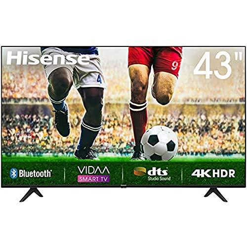 Hisense A7100F 43A7100F TV 109.2 cm (43″) 4K Ultra HD Smart TV Wi-Fi Black – Hisense A7100F 43A7100F, 109.2 cm (43″), 3840 x 2160 pixels, LED, Smart TV, Wi-Fi, Black