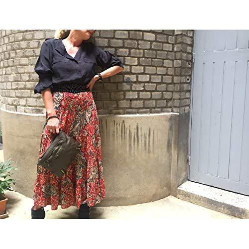 Caramel amp;ZO JU en Le Pochette Brenda cuir OxYpYU