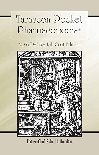 Tarascon Pocket Pharmacopoeia 2016 Deluxe Lab-Coat Edition