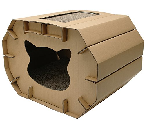 Cat Love Cozy Scratcher Den by Love Cat