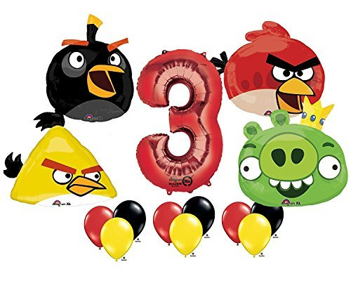 The Ultimate Angry Birds 3rd Birthday Party Supplies