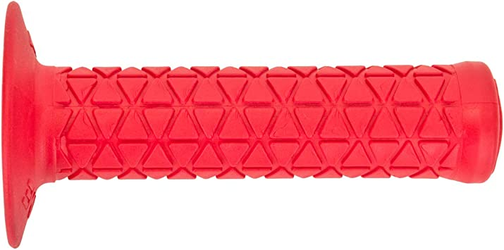 OLD SCHOOL BMX AME Tri Grips Red Bike Bicycle Grips WITH STICKER