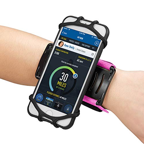 Newppon 180° Rotatable Phone Wristband :for iPhone for sale  Delivered anywhere in USA