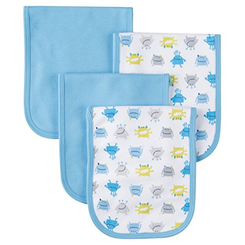 Gerber Unisex Baby 2 Ply terry cloths