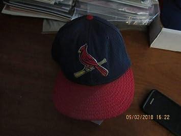 St Louis Cardinals Bird Cap New Era 59 50 Size 7 1 4 Game