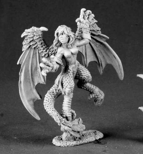 Harpy Aello Dark Heaven Legends Miniature by Reaper