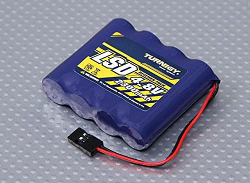 4.8v Receiver Pack (Turnigy Receiver Pack 2300mAh 4.8v NiMH)