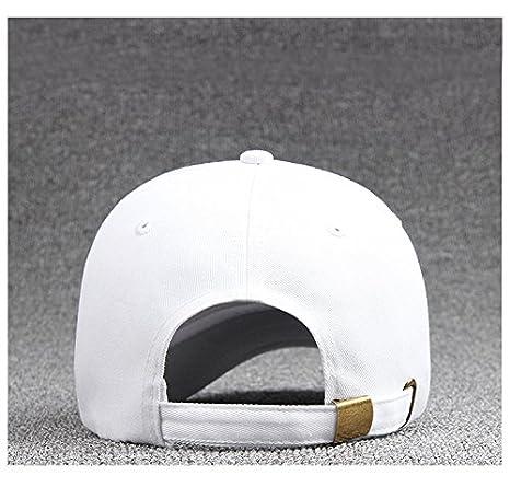 cappello uomo Cappello unisex del cotone Berretto da baseball delle ragazze dei ragazzi Snapback di Hip Hop cappello piatto Nero