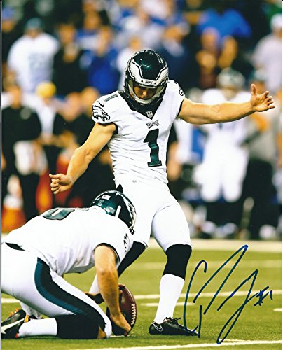 Autographed Cody Parkey 8x10 Philadelphia Eagles Photo