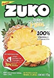 3 x zuko piña no sugar needed drink mix packs 15g each