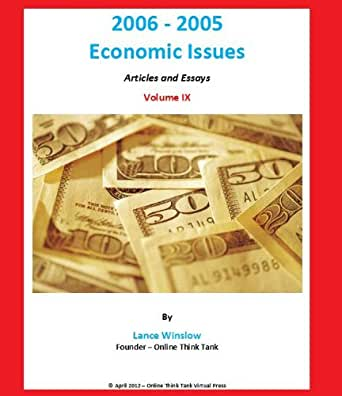 Essays on economic issues