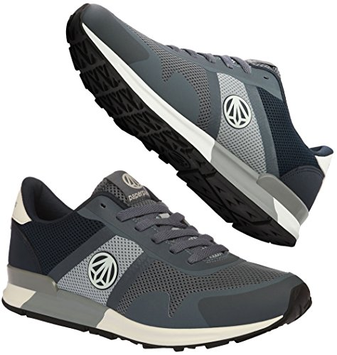Nighglow Fashion Running Casual Trainer 1310 Navy Shoes Gray Paperplanes Unisex TSnqwP1xx6