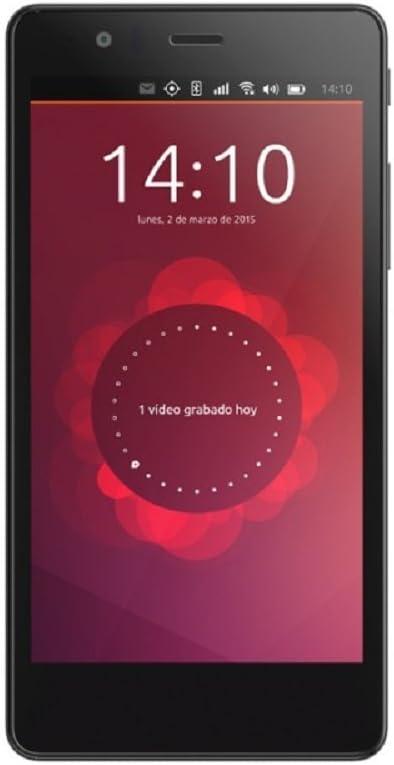 OUTLET bq smartphone Aquaris E5 HD Ubuntu Edition (16+1GB) black ...