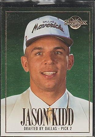 1994 Skybox Jason Kidd Mavericks Draft Picks Rookie Basketball Card