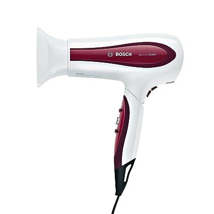 Bosch PHD5781 BrilliantCare Business - Secador de pelo, plegable, 200 W, color blanco
