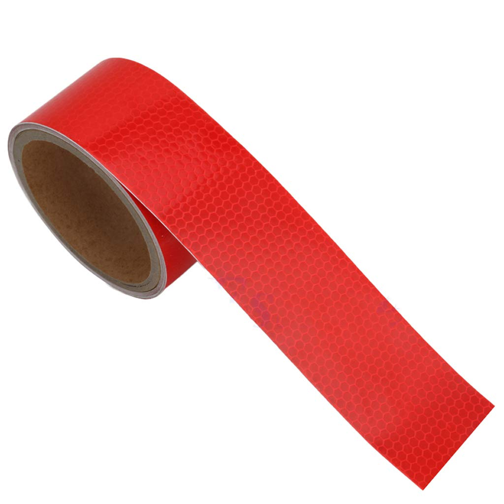 Lergo 3M 2' X 10' Reflective Safety Warning Conspicuity Tape Film Sticker Colorful