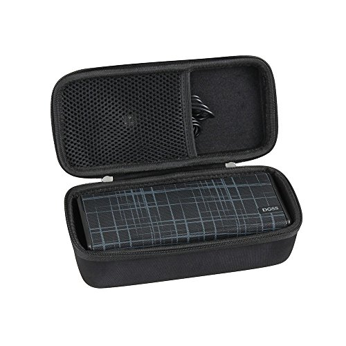 Hermitshell Hard EVA Travel Case Fits DOSS SoundBox Color Portable Wireless Bluetooth 4.0 Speakers