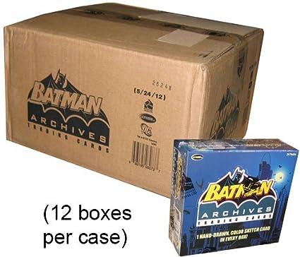 Amazon.com: DC Comics: Batman Archivos Cajas de Trading Caja ...
