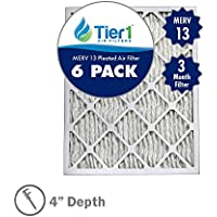 16x25x4 Ultimate MERV 13 Air Filter / Furnace Filter Replacement