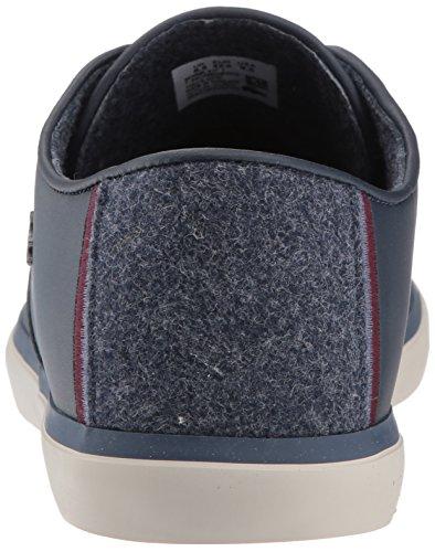 Lacoste Men's Sevrin 417 1 Sneaker, Navy, 10 M US