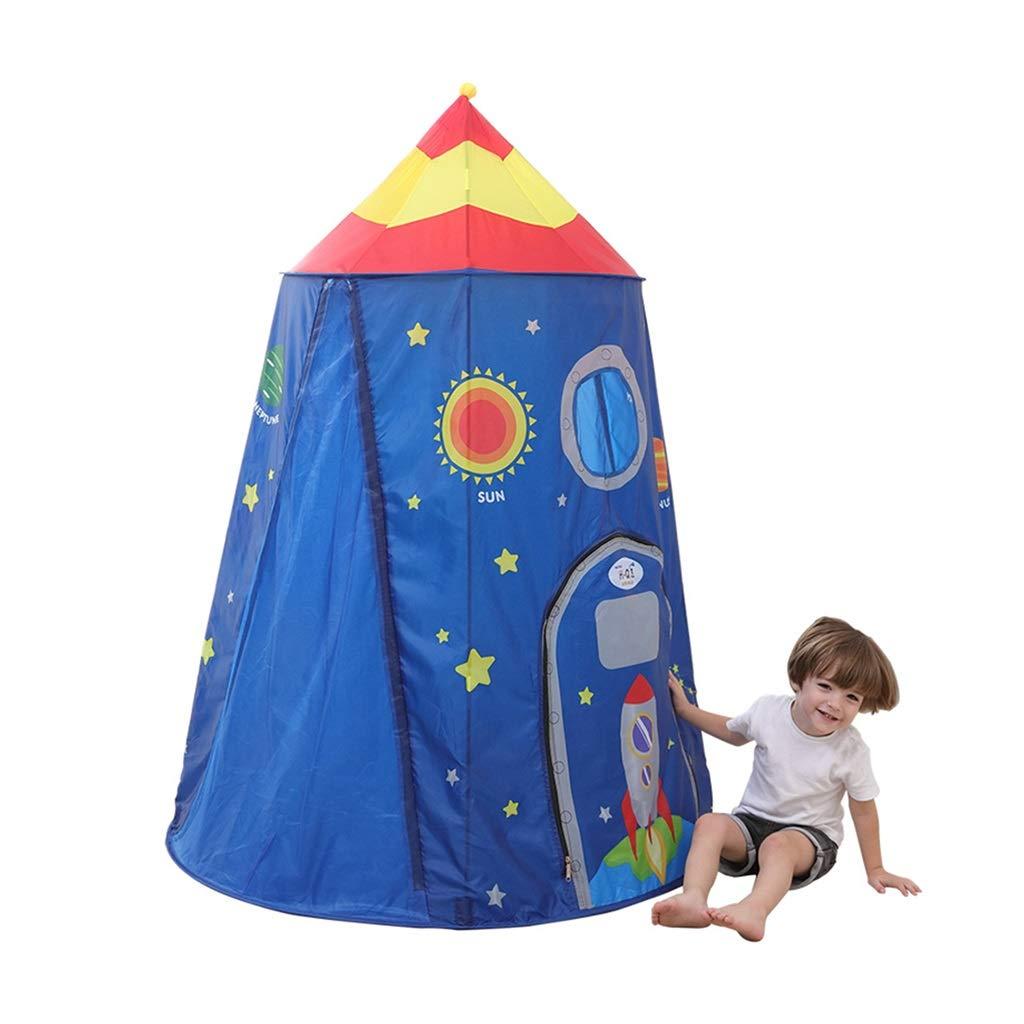 キッズテント テントを遊ぶゲームテント子供のおもちゃの家 子供のテント屋内の遊び家 家の男の子と女の子のポップアップテント 子供のためのギフト キッズテント (Color : Blue, Size : 117*117*160cm) B07MRK8F4H Blue 117*117*160cm