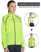 J.CARP Convertible Women Cycling Jacket...