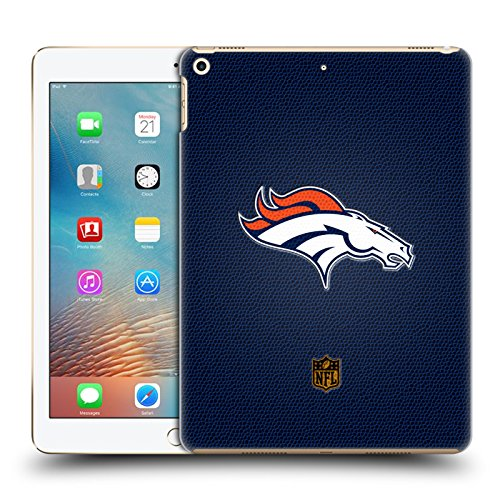 Official NFL Football Denver Broncos Logo Hard Back Case for iPad 9.7 2017 / iPad 9.7 2018 by Head Case Designs