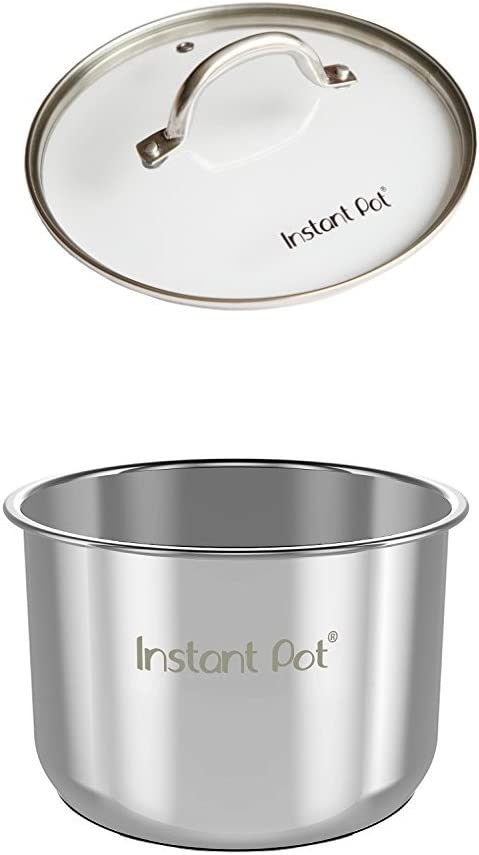 Instant Pot Tempered Glass Lid to Fit 5-6 Litre Electric Pressure Cookers