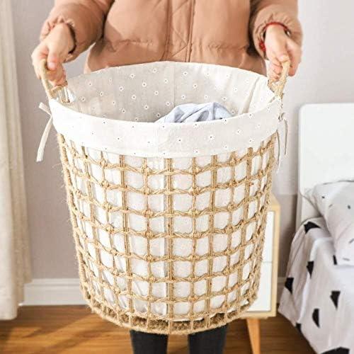 JJLL Panier à Linge, boîte de Rangement, Panier à Linge, Jouets Stockage/Rangement for Les vêtements 20.5 * 27.5cm (Taille: 27 * 31.5cm) (Size : 20.5 * 27.5cm)