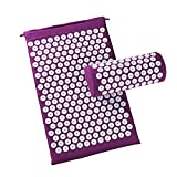 TAKEFUNS Acupressure Massage Mat Pillow Set Yoga Mat,Acupuncture Blanket by Wellness Collections