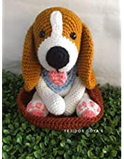 Perro Beagle tejido amigurumi