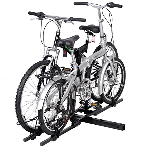 2 Bike Bicycle Carrier Hitch Receiver 2'' Heavy Duty Mount Rack Truck SUV by ChaiMind (Image #3)