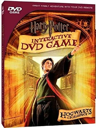 Amazon.com: HARRY POTTER INTERACTIVE DVD GAME-HOGWARTS ...