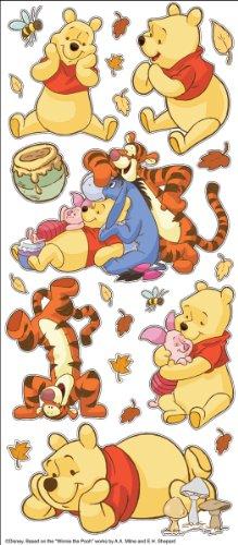 Disney EK Success Large Flat Stickers, Pooh for $<!--$5.90-->