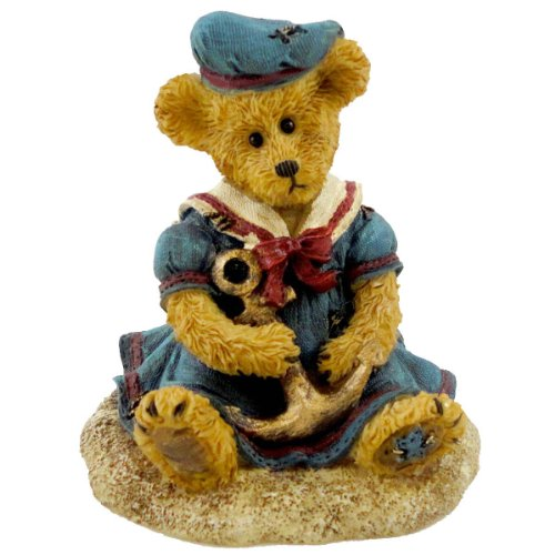 Boyds Bears Resin SHELLY C STARBOARD ANCHORS AW 4027334 Bearstone - Boyds Resin