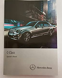 2014 mercedes c class owner s manual set with comand mercedes benz rh amazon com mercedes benz c180 w202 repair manual mercedes benz c180 owners manual pdf