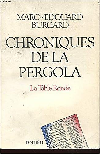 Chroniques de la Pergola (DIVERS): Amazon.es: Burgard,Marc: Libros ...