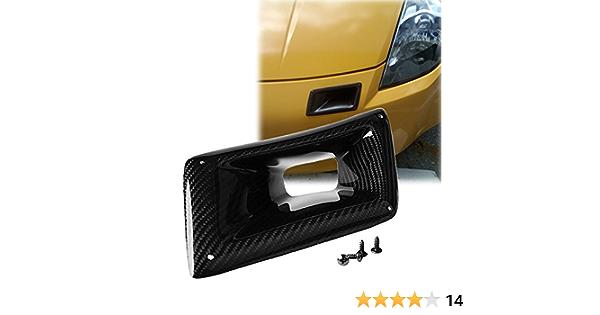 Carbon Fiber Air Vent Intake Duct L/&R For Nissan 350Z Z33 2003 2004 2005-2009 D