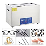 CO-Z 30L Digital Professional Large Ultrasonic Jewelry Cleaning Machine Cleaner with Heater, Timer (1400 W, 10x60 W Transducers)