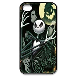 Classic Case theme pattern The Nightmare Before Christmas Custom Design For Apple iPhone 4,4S Phone Case