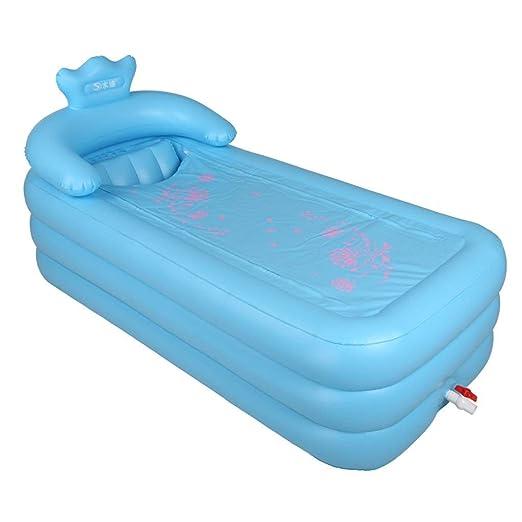 Bañera, piscinas hinchables plegables para el hogar, con ...