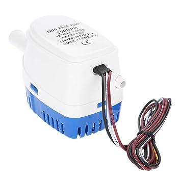 1100 GPH elektrische versenkbare nicht automatische Bilgenpumpe für Boots