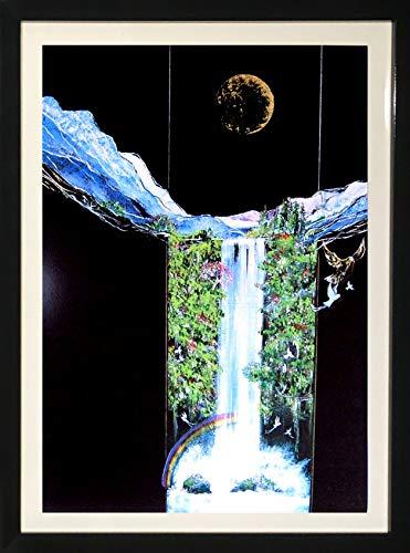 (Peter Jan Schuin, Framed Abstract Art Decorative Home Decor)