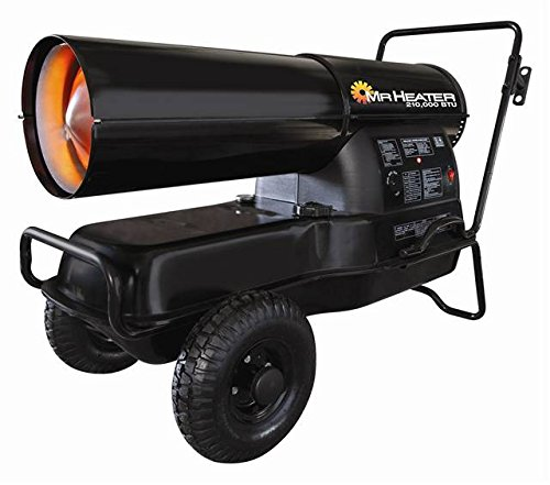 Mr. Heater F270385 MH210KTR Contractor 210,000-BTU Forced-Air Kerosene Heater by Mr. Heater
