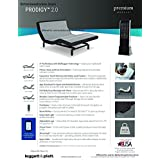 Prodigy 2.0 Leggett and Platt Adjustable Bed Base! Free White Glove Delivery! Includes Extended 10 year inhome Warranty! 25 year Total warranty! (Queen (60x80))