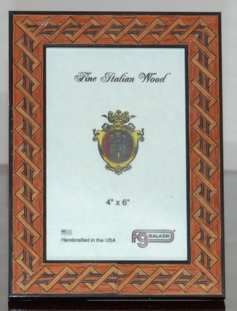 Amazon Brown Italian Wood Picture Frame 5 X 7 Single Frames